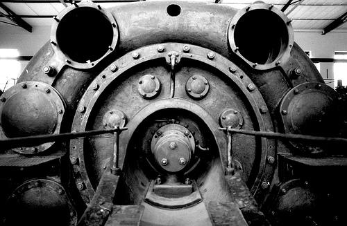 machining turbine