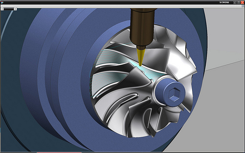 impeller machining