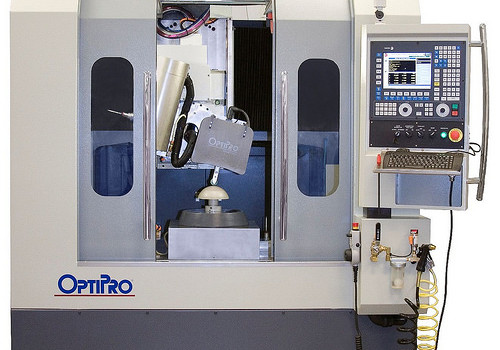 Optipro_five axis optical grinding machine_FagorAutomation
