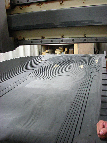 cnc milling 5 axis