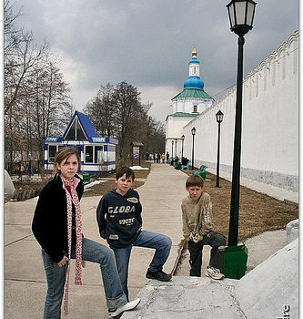 Russia, close to Kazan, Raifa Monastery