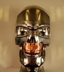 terminator robot head
